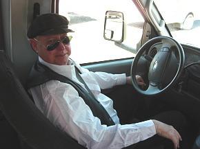 運転手のおじさん