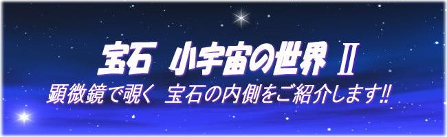 宝石 小宇宙の世界Ⅱ
