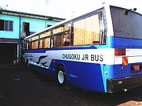 日本の中古バス